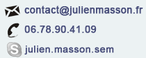Contact Julien Masson